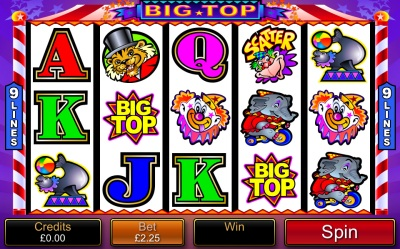 Big Top Touch Screenshot