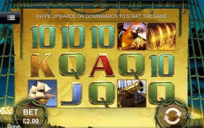Captains Treasure Touch Screenshot