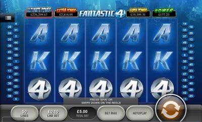 Fantastic four Touch Screenshot