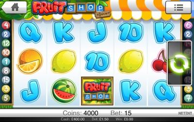 Fruti Shop touch Screenshot