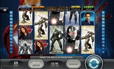 Iron Man 2 Touch Screenshot