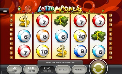 Lotto Madness Touch Screenshot
