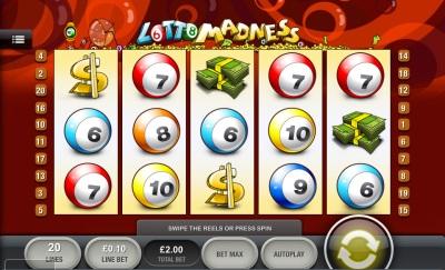 Lotto Madness Touch Screenshot