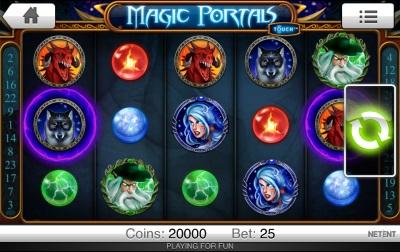 Magic Portals Touch Screenshot