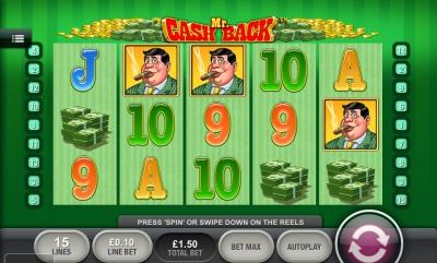 Mr Cash Back Touch Screenshot