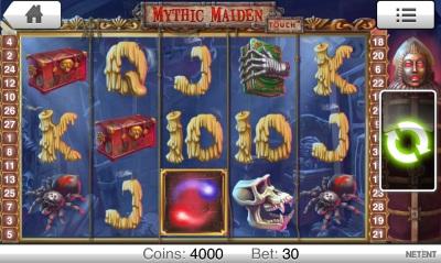Mythic Masiden Touch Screenshot