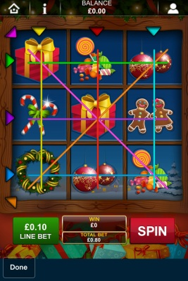 Santas Gift Touch Screenshot