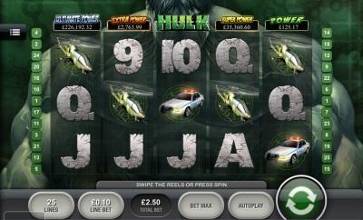 The Incredible Hulk Touch Screenshot