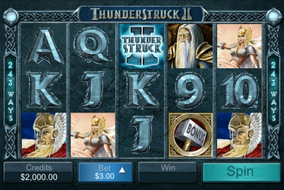 Thunderstruck 2 Touch Screenshot