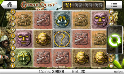 Gonzos Quest Screenshot