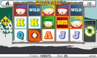 South Park Mobile Slot Screenshot