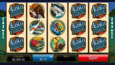 Alskan fishing Screenshot