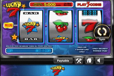 lucky 7 screenshot