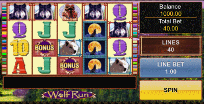 wolf run screenshot