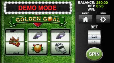 Golden Goal Screenshot