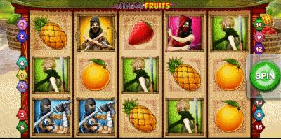 Ninja Fruits Screenshot