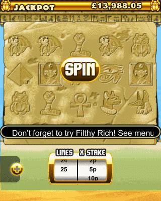 Pharoah's Fortune screenshot