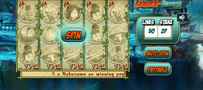 Samurai Zombies Screenshot