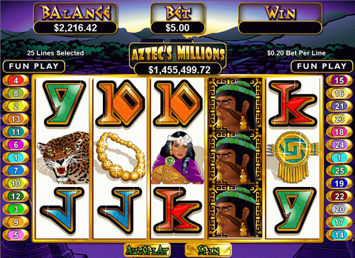 aztecs millions screenshot