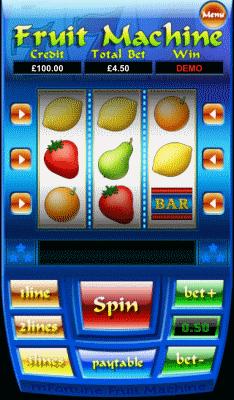fruit machine screenshot