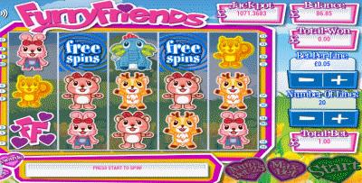 furry friends screenshot
