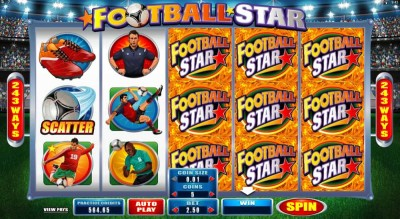 football star screenshot