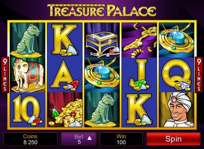 treasure palace screenshot