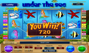 under the sea screenshot